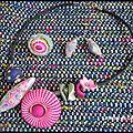 Bijoux multicolores