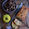Cake pomme et noix