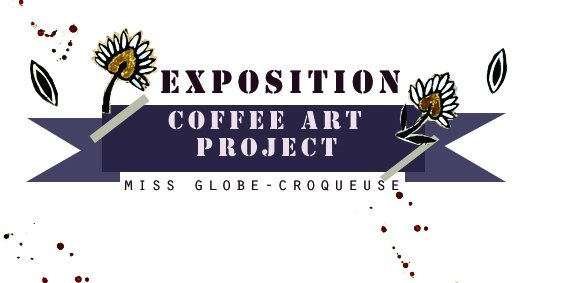 etiquette exposition coffee art project