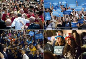 Obama young voters' support