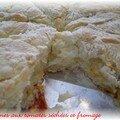 De retour... des scones aux tomates séchées et au fromage