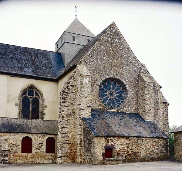 Paimpont, église-abbatiale Notre Dame
