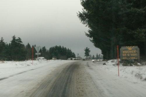 2008 11 26 Mauvaise état des routes