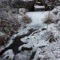 2009 12 17 Le ruisseau gelé