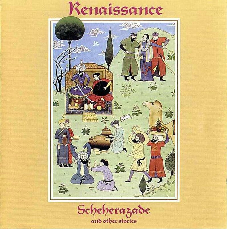 Renaissance - Scheherzade And Other Stories - Front