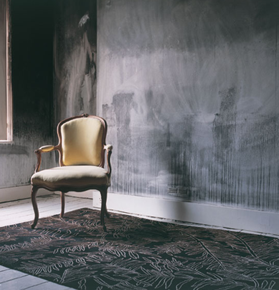 h&D mur gris