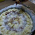 Variante de la tarte aux pommes...