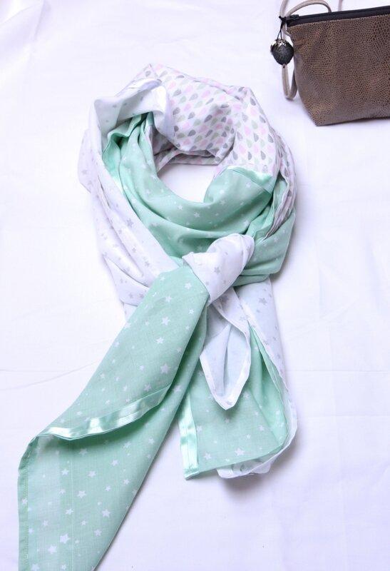 foulard vert d'o
