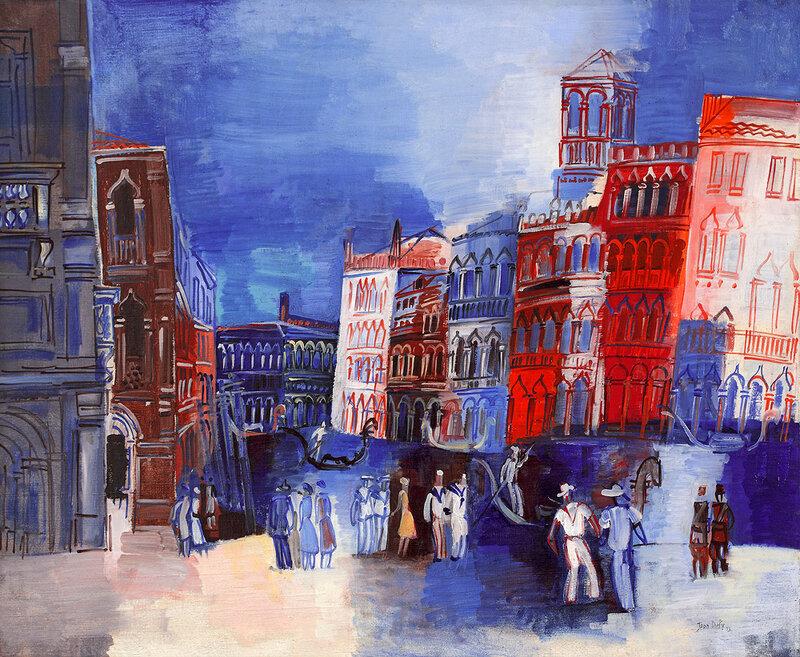1926 - Venise, le grand Canal