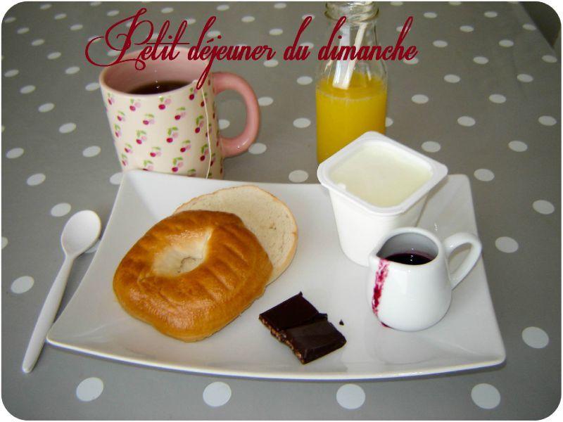 Souvent Petit déjeuner du dimanche - Un peu de rêve dans ma cuisine XU57