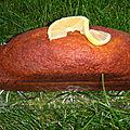 Ronde interblogs / cake au citron de pierre hermé