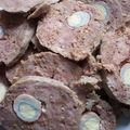 Faux rôti de viande hâchée