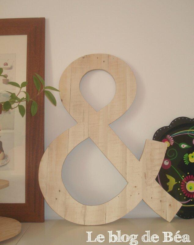 DIY esperluette en bois de palette