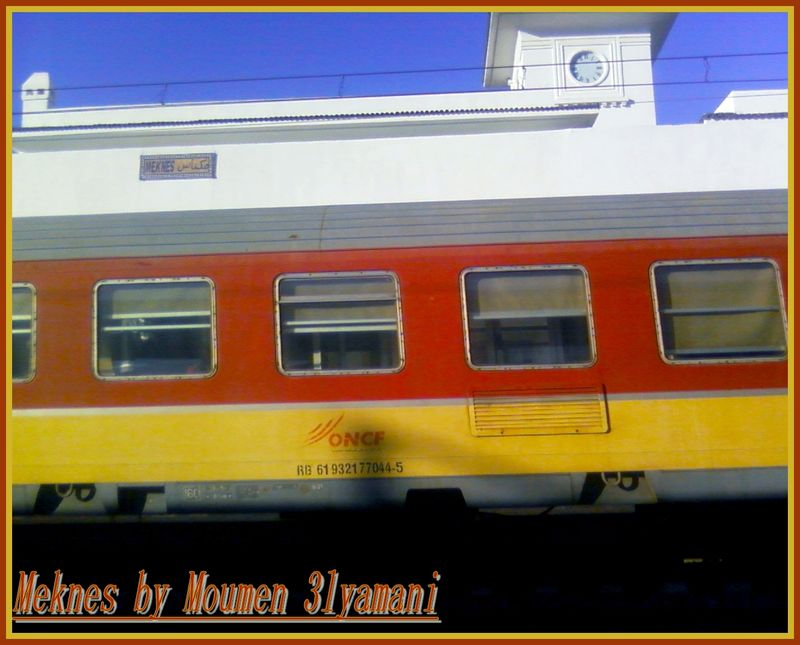 Train Gare Meknes