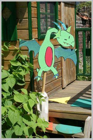 le dragon des jardins