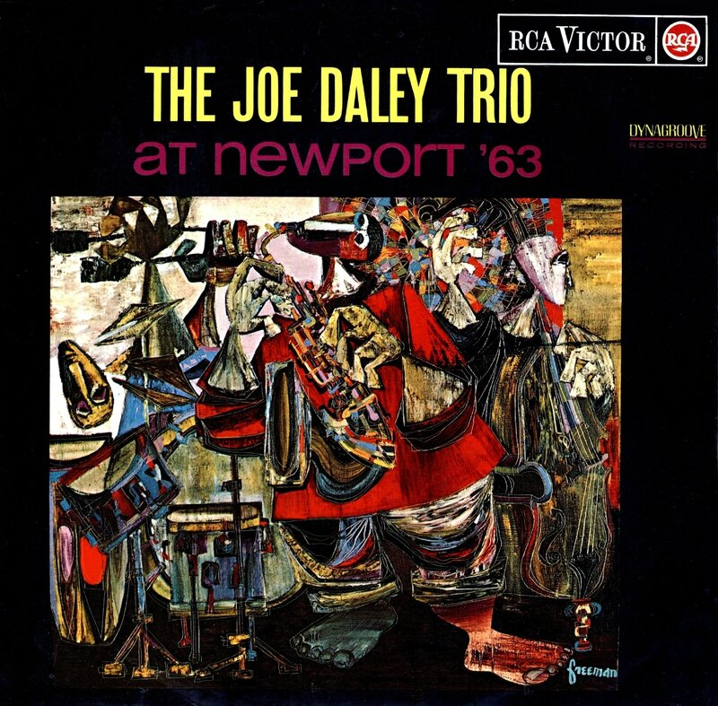Joe Daley Trio - 1963 - At Newport '63 (RCA Victor)