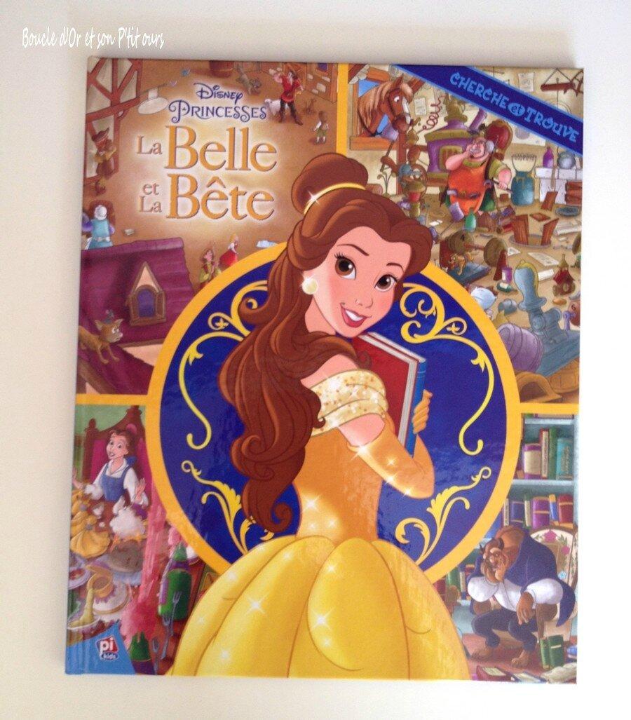 """Cherche et Trouve """"La Belle et la Bête"""" [Chut, les enfants lisent]"""