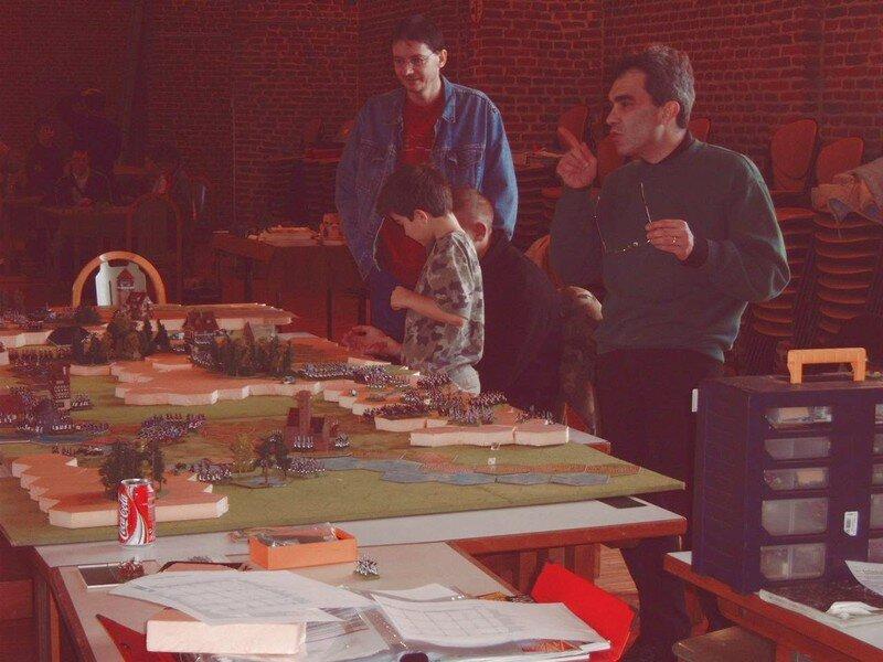 Dimanche 19 novembre 2006 bataille d'Iena avec le jeu Héroïka