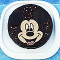 Gteau Mickey Mouse trs chocolat !