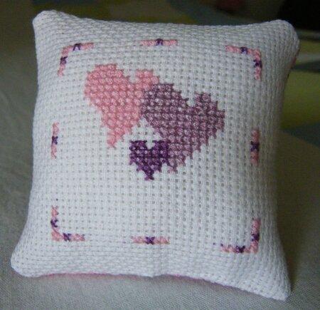 mini coussin coeur 1