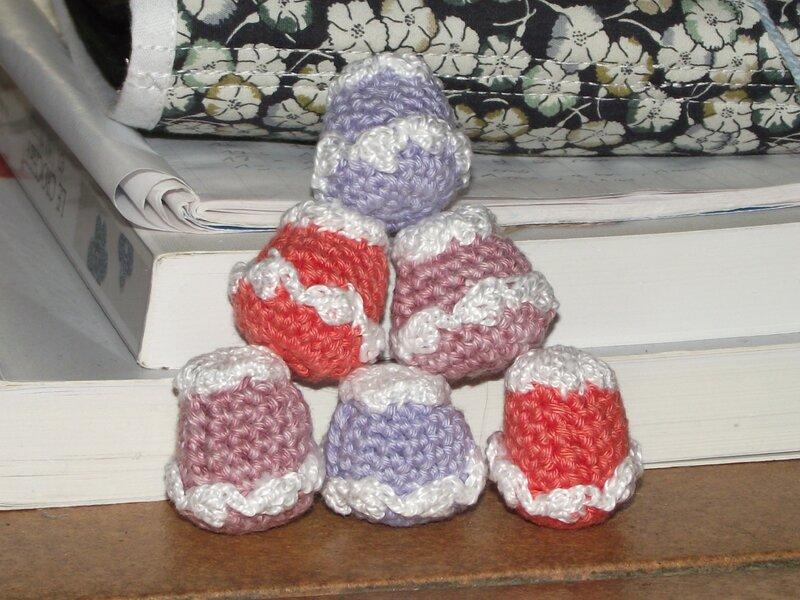 cupcake poupée au crochet coton fifty 4