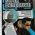 Super détective jeu educatif neuf oid magic