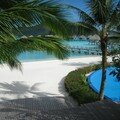 L'hotel Méridien à Bora Bora