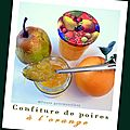 Confiture de poires  l