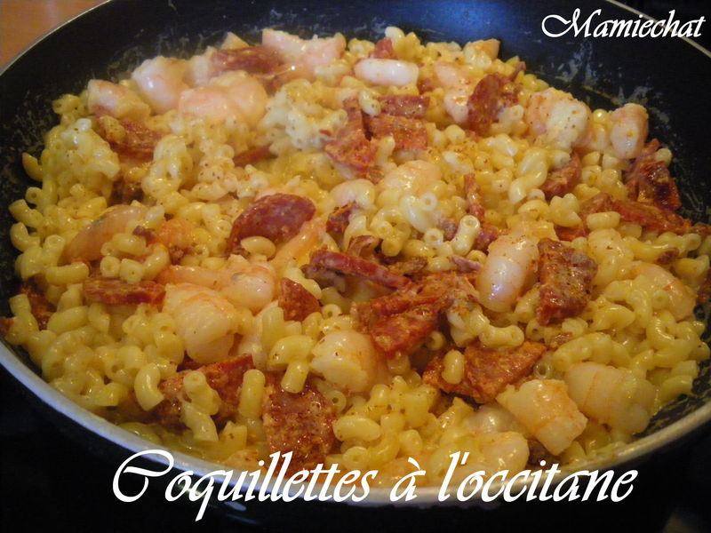 Coquillettes l 39 occitane le blog de chantal76 for Plat unique convivial entre amis