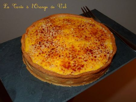 La tarte à l'orange de Veb