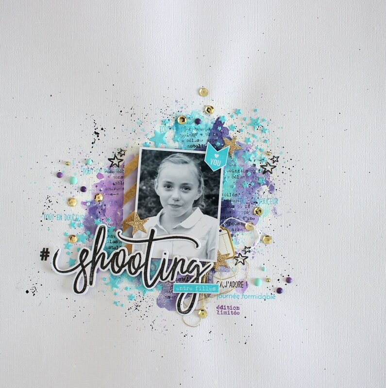 Mackenzie DT Florileges Design Page combo die clear Shooting