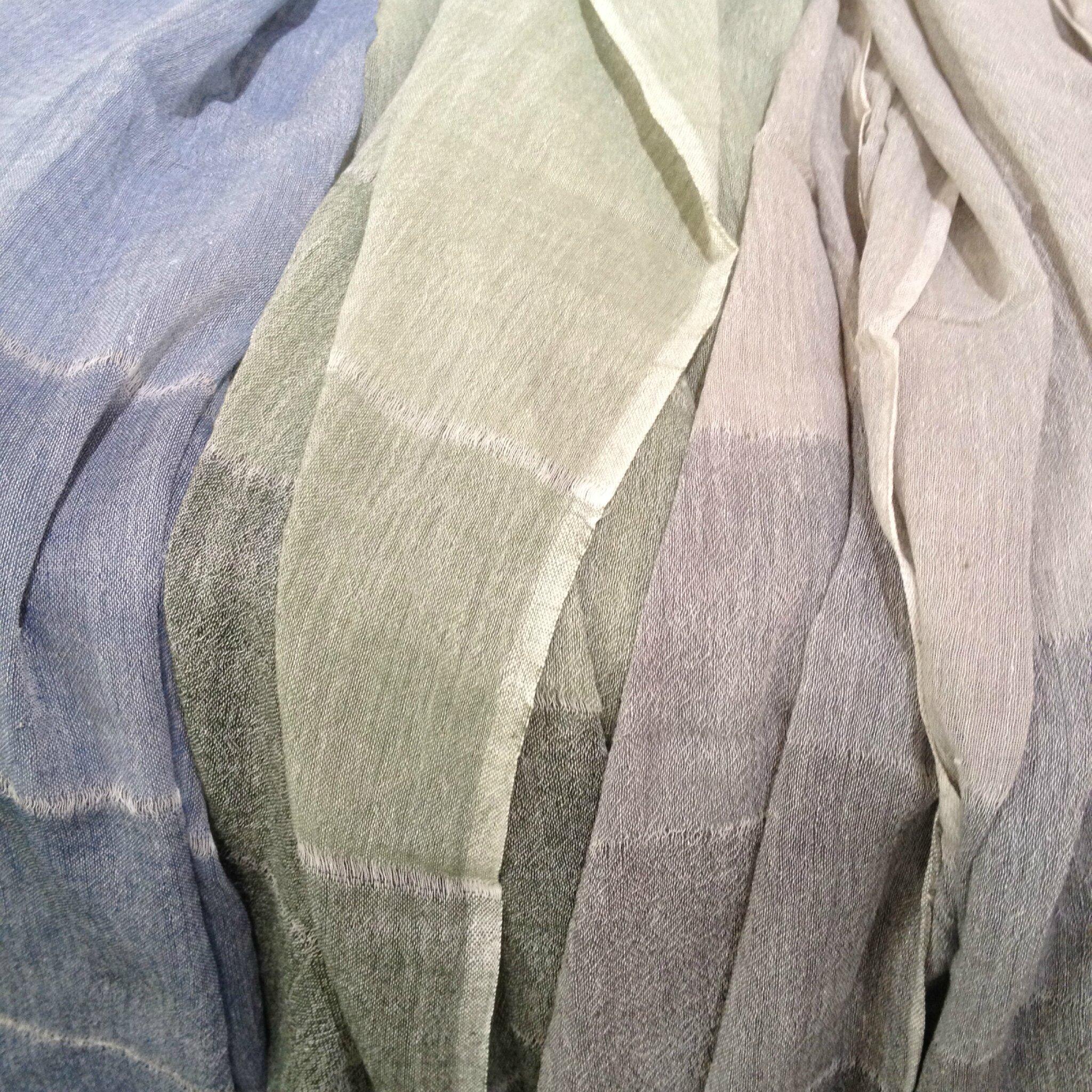 Foulard coton made in Ethiopie Dana ESTELINE Boutique Avant-Après 29 rue Foch 34000 MONTPELLIER