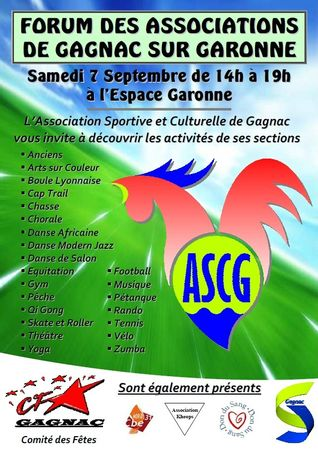 Affiche Forum des Associations 2013