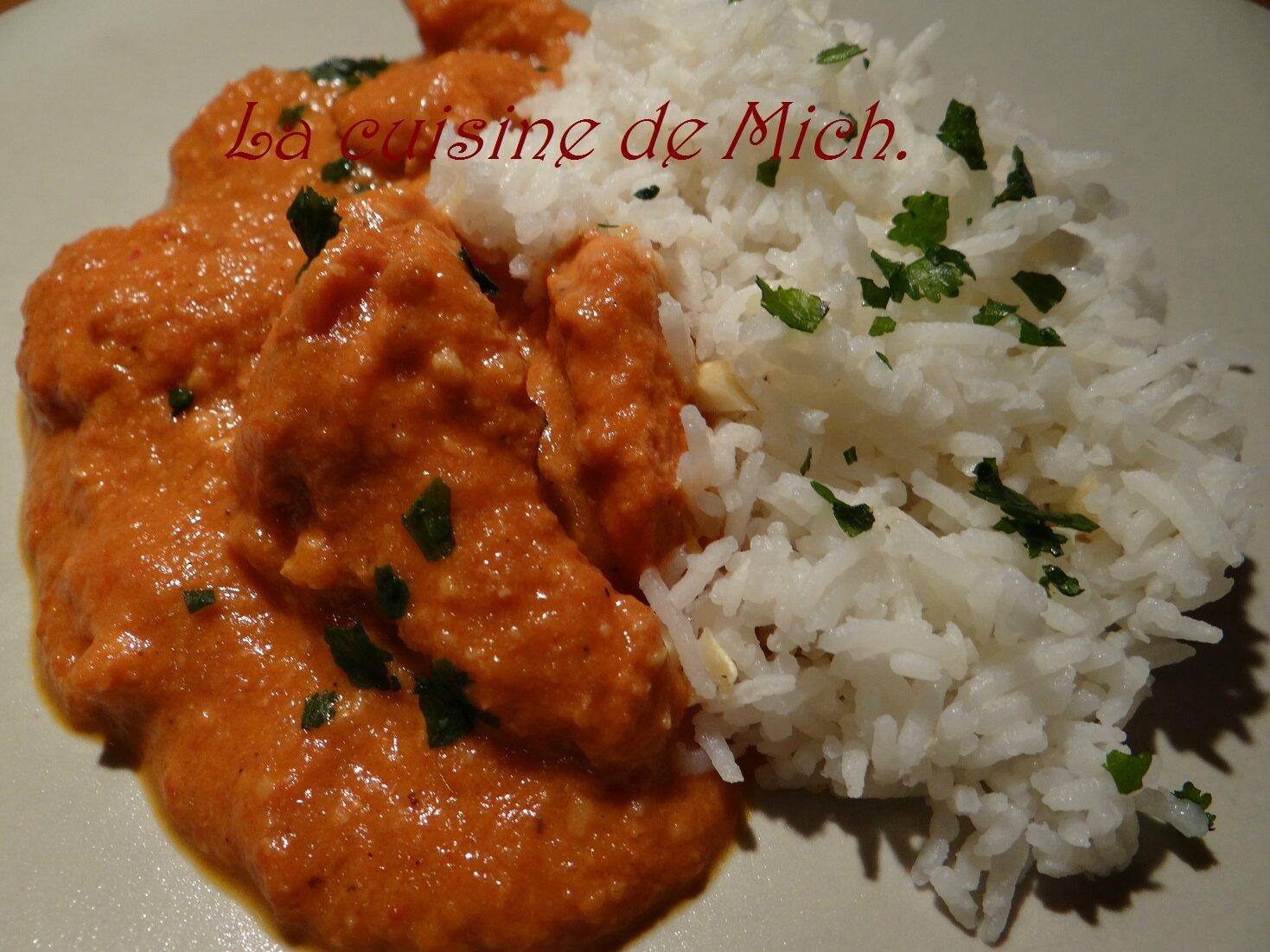 Poulet indien ou butter chicken la cuisine de mich - Herve cuisine butter chicken ...