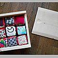 Cubes en tissus pour enfants
