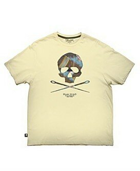 Marc Ecko Cut & Sew Pieced Skull Short Sleeve Tee
