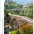 Les sentiers de l'exil - francoise bourdon - calmann-levy - france de toujours et d'aujourd'hui.