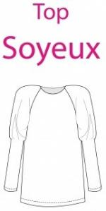 Made In Me Couture - Top Soyeux