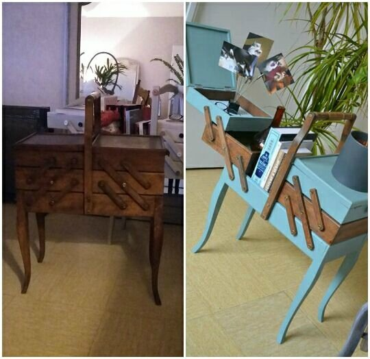 travailleuse style scandinave vintage