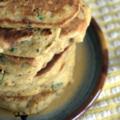 Pancakes de légumes au poulet, sans blé, sans lait