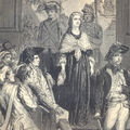 Derniers instants de la reine marie-antoinette - 16 octobre 1793