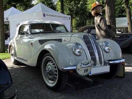 BMW 327 Cabriolet 1937 à 1941 et 1946 à 1951 Classic Gala de Schwetzingen 2010 1