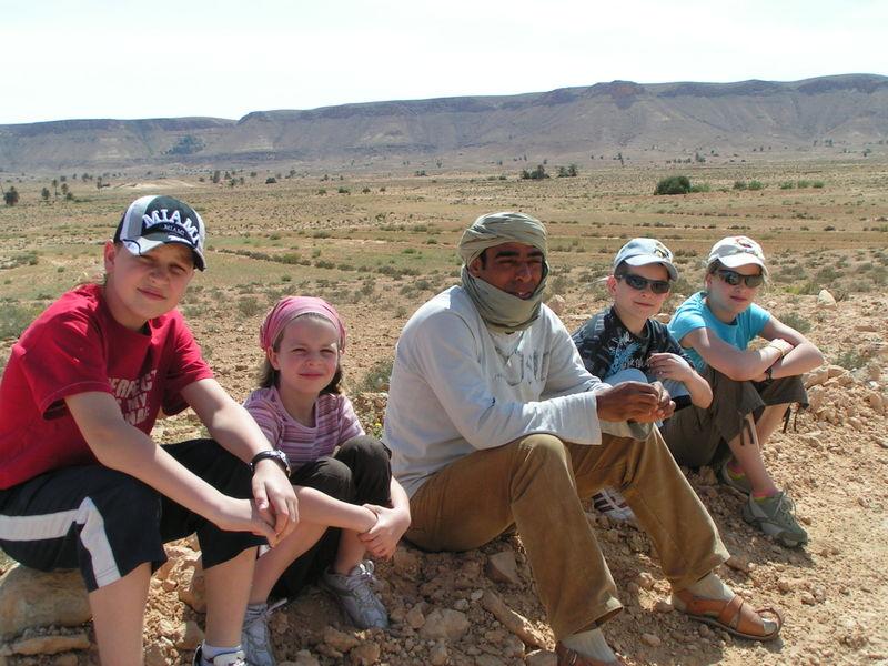 Ali et les enfants