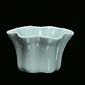 A small rare celadon porcelain bowl, china, qing dynasty, qianlong period (1736-1795)