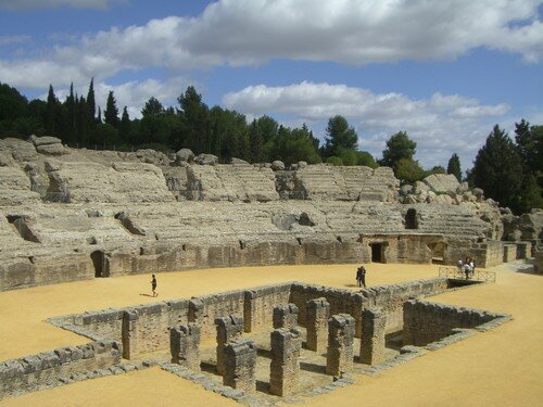 Italica-Amphithéâtre