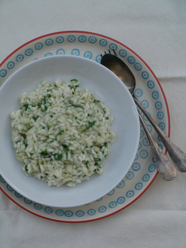 risotto ail persil