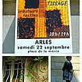 Arles, laine soie tissage visite à ma façon