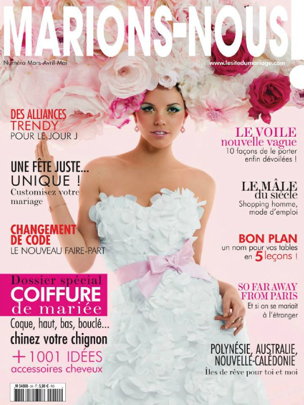 magazine marions nous mars 2012 photo de presse bijoux en pagaille bijoux et. Black Bedroom Furniture Sets. Home Design Ideas