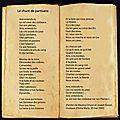Le chant des partisans: une oeuvre poétique