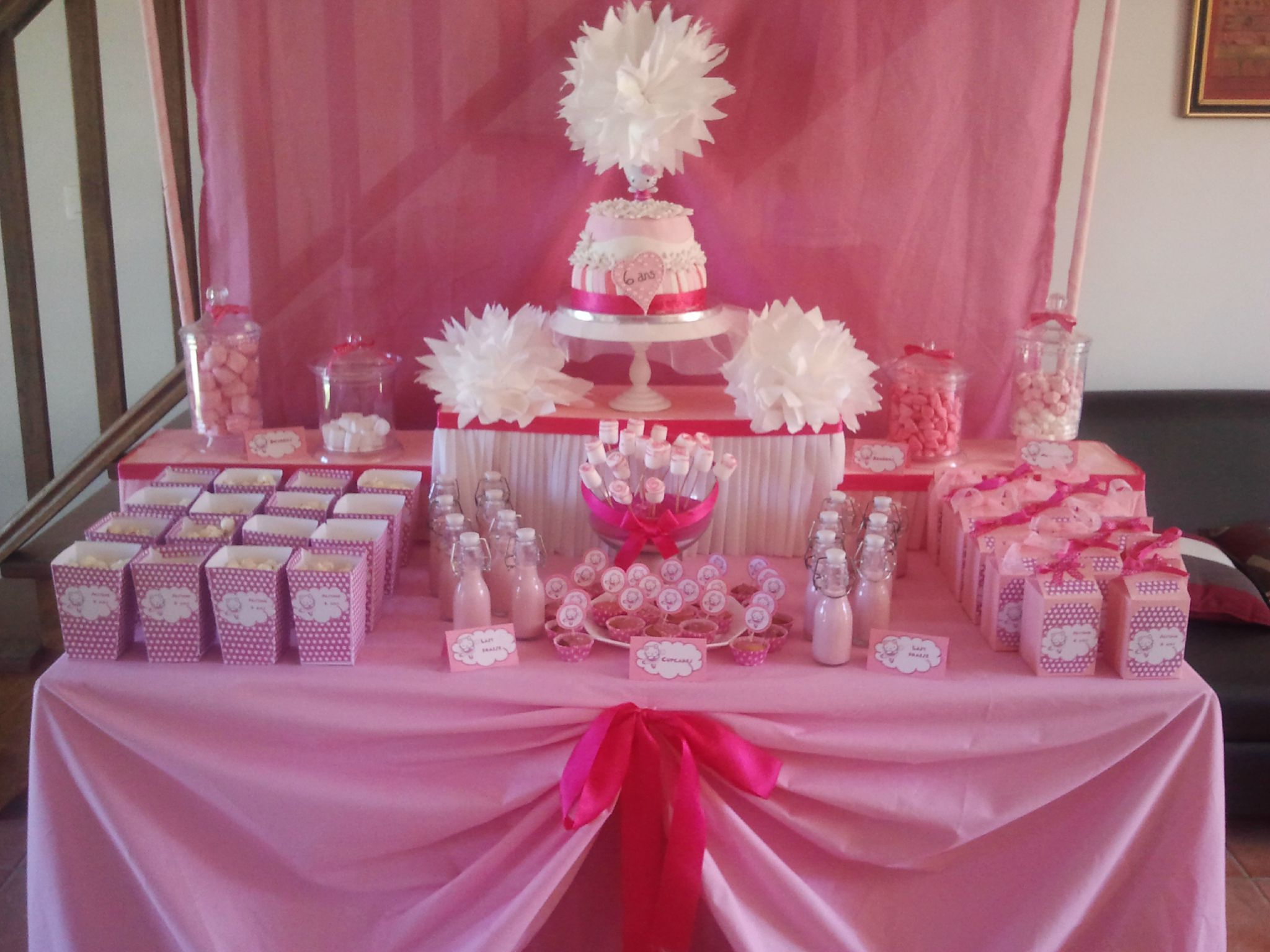Sweet Table Hello Kitty Oh D Lices De Sandra
